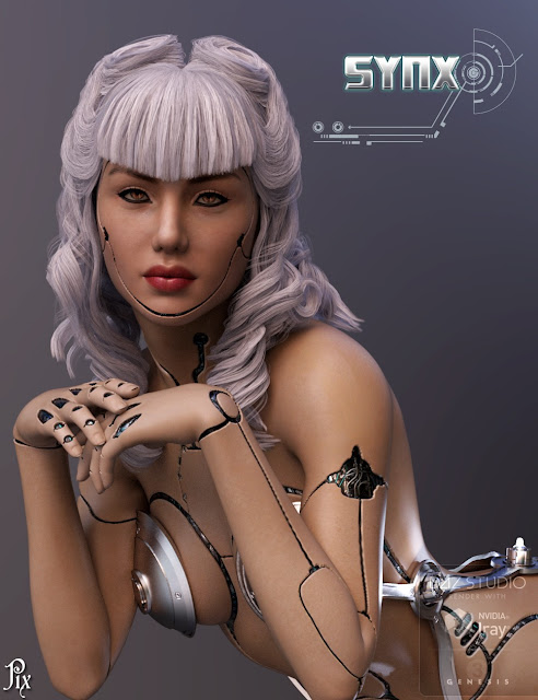 Pix - Synx for Genesis 3 Female