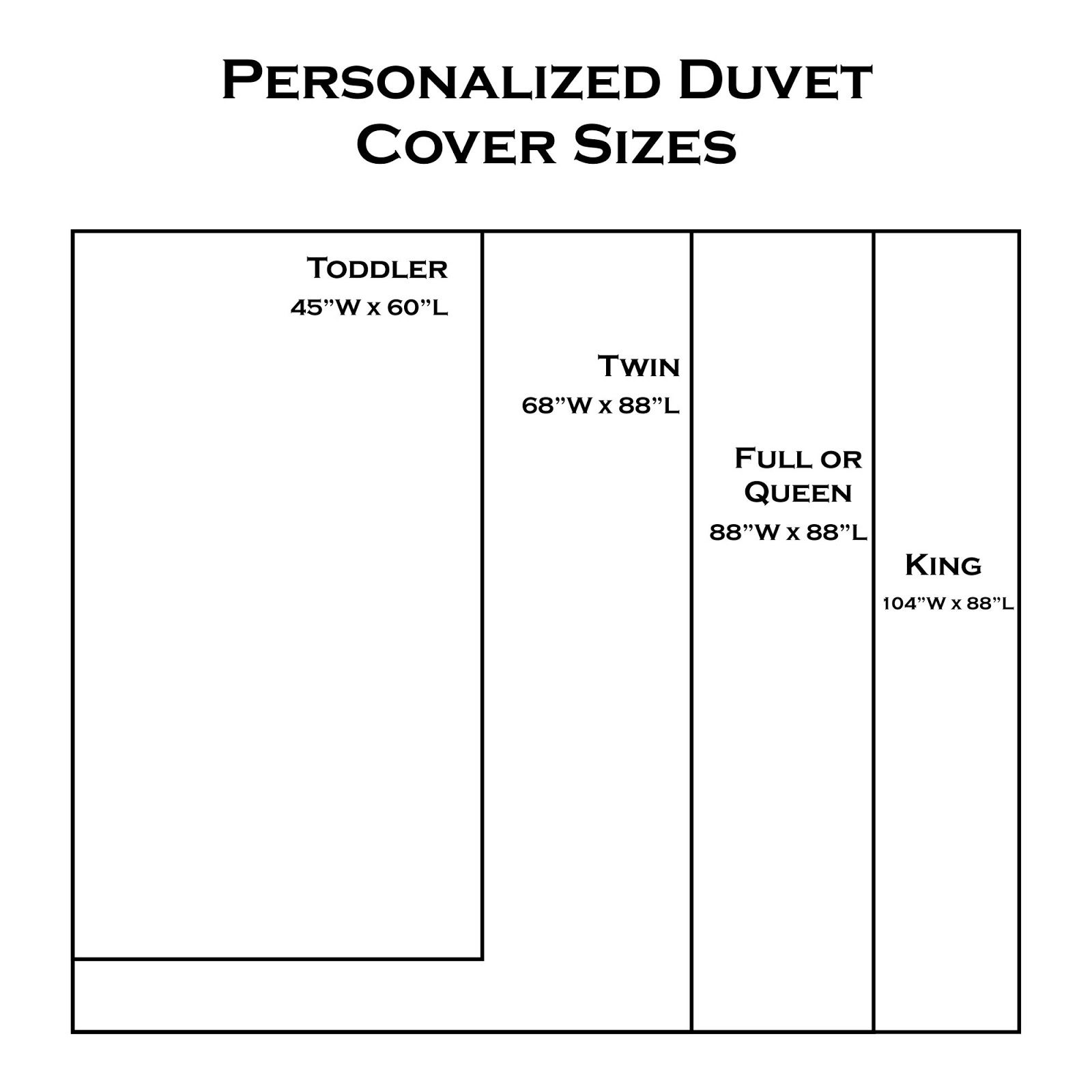 King Size Duvet Measurements