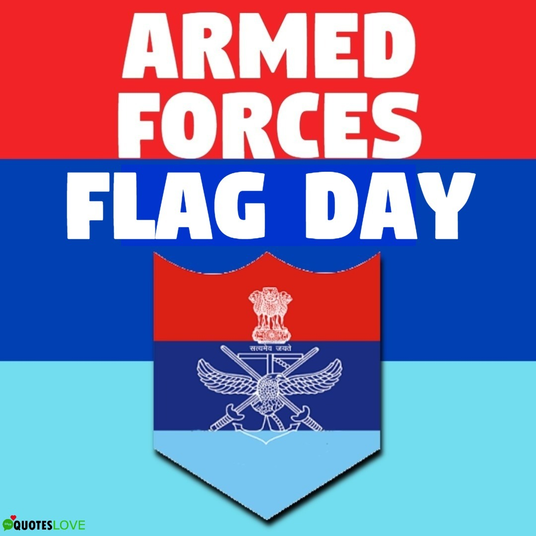 Indian Armed Forces Flag Day 2019 Images, Poster, Wallpaper