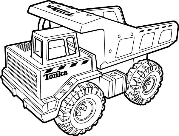 desenhos de caminhão e carreta para colorir as máquinas pesadas