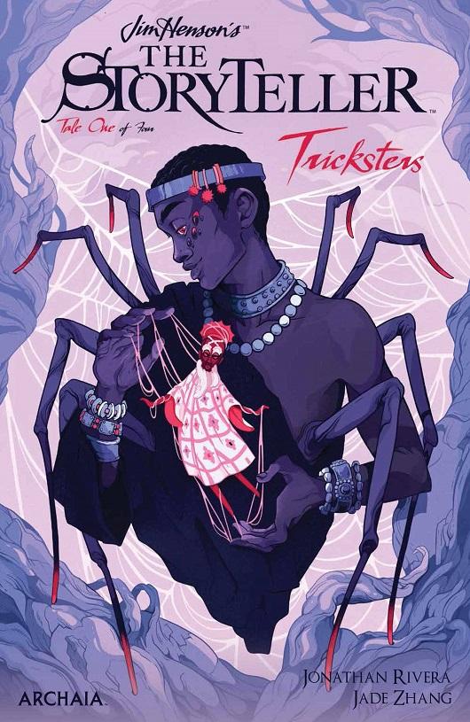 Cover of Jim Henson's Storyteller: Tricksters #1