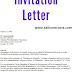 Invitation Letter event - Invite Conference Speaker ( word )