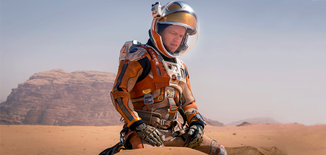 Astronautul Mark Watney, este izolat pe Marte