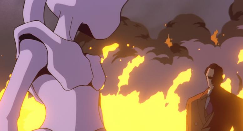 Giovanni Mewtwo Anime Pokémon