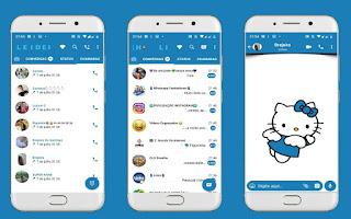 Hello Kitty 10 Theme For YOWhatsApp & Fouad WhatsApp By Leidiane