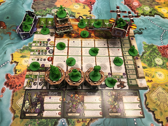 Heroes of Land, Air & Sea Gamelyn Games Order and Chaos Expansion Goblin faction; photo by Benjamin Kocher