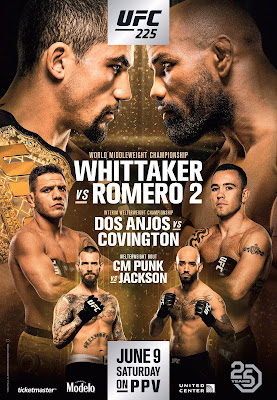 UFC 225 Whittaker Vs. Romero 2 Custom HD Dual Latino