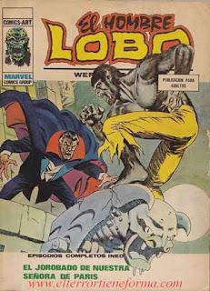 El Hombre Lobo 10 Ediciones Vertice