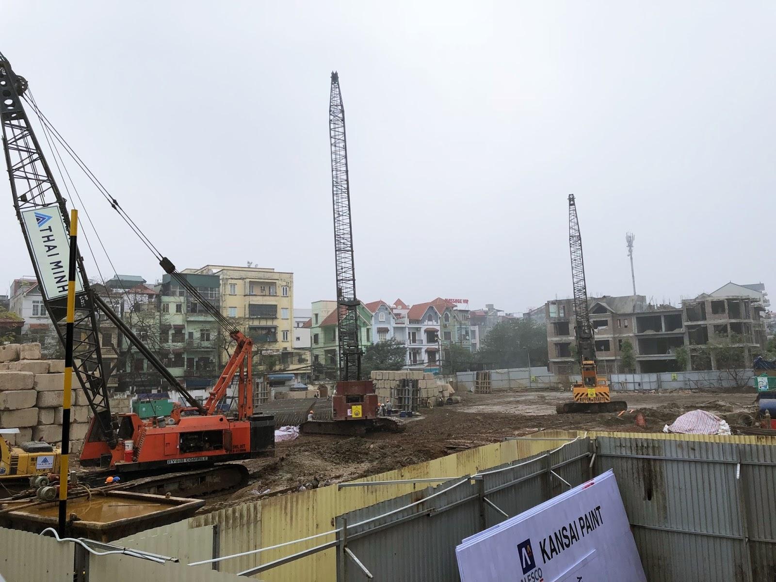 Cập nhật tiến độ dự án 108 Nguyễn Trãi