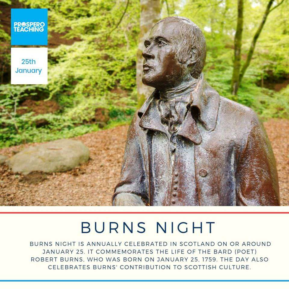 Burns Night Wishes Beautiful Image