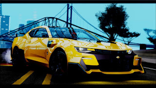 [MTA:SA] Chevrolet Camaro SS Bumblebee Transformers 5
