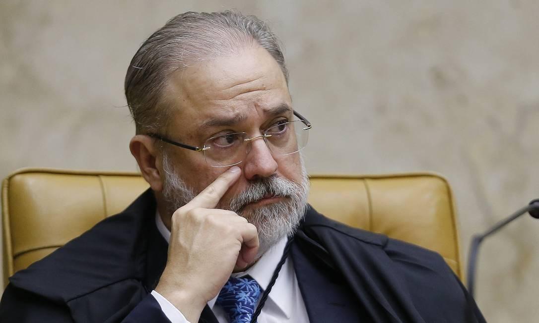 Augusto Aras, da PGR, é contra quebra de sigilo de empresário após ordem da CPI da Covid