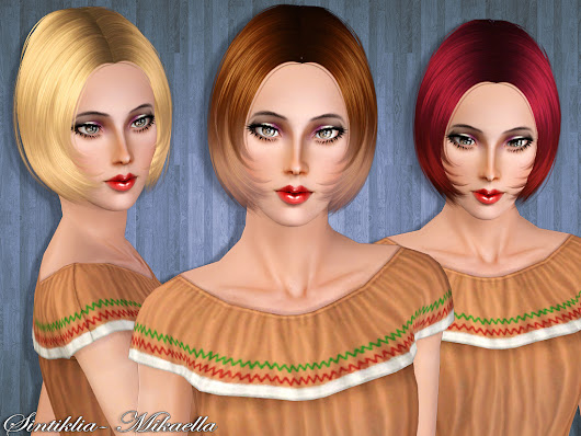 Sintiklia - Hair Mikaella for Sims 3