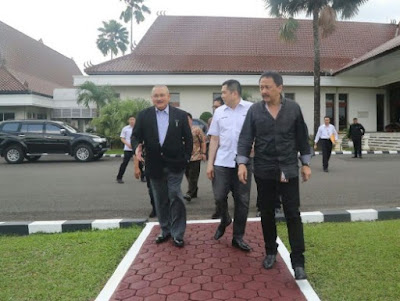 Gubernur Sumsel, CEO MNC Group dan Dirut Bursa Efek Bahas MotoGP Palembang