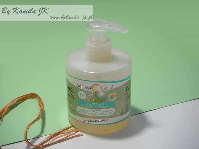 Natura Bella Naturalny płyn do higieny intymnej z wyciągiem z szałwii naturalne kosmetyki