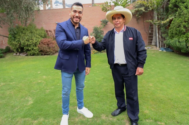 Pedro Castillo se reúne con alcaldes de distritos de Lima