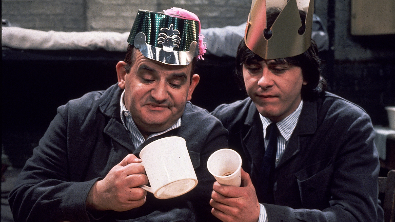 "A still from the UK TV series ""Porridge"""