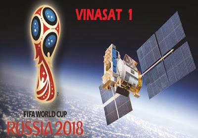 Update Terbaru ! Frekuensi Satelit Vinasat 1 Untuk Nonton Piala Dunia Rusia 2018