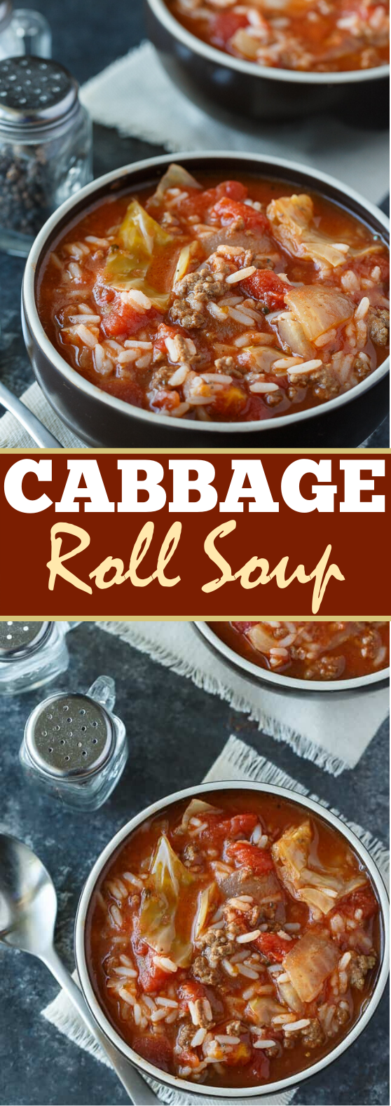 Cabbage Roll Soup #dinner #comfortfood #soup #weeknight #easy