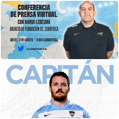 Conferencia de prensa de Mario Ledesma y Julián Montoya #LosPumas