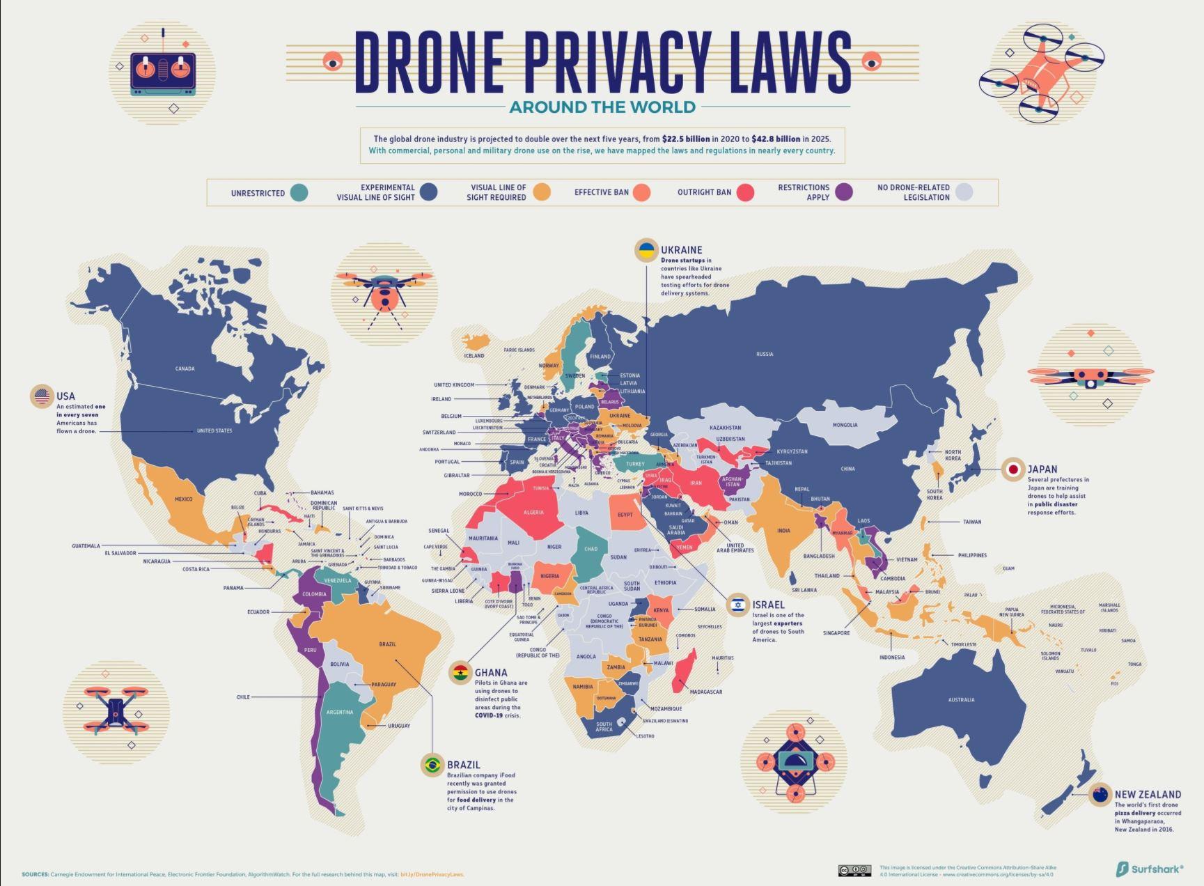 dronen-auf-reisen-gesetze-weltkarte-dron