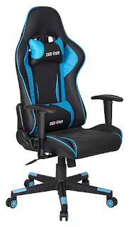 MBTC Deraoer 90-180 Degree Large Gaming Chair in Black