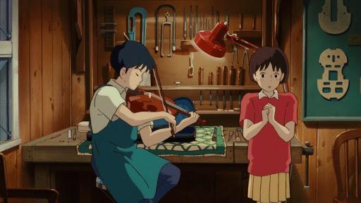 Review Anime Movie Mimi Wo Sumaseba