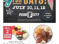 Food City Weekly Sale July 15 - 21, 2020