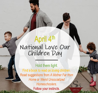 Take some extra time out this April 4th to really show the children in your life how much you love them.