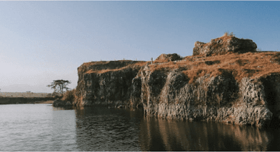 spot foto landscape danau beko tegal
