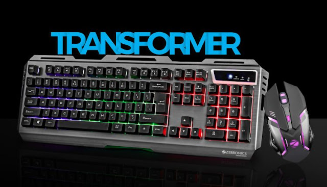 Zebronics Transformer Gaming Combo