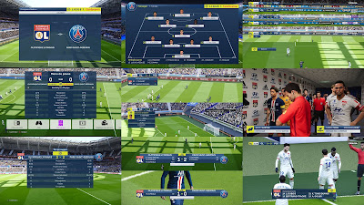 PES 2020 French Scoreboard Pack by Overall