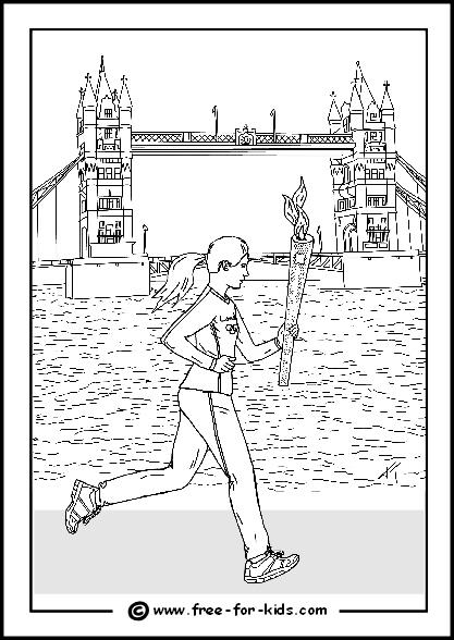 Desenhos Das Olimp 237 Adas Londres 2012 Para Colorir
