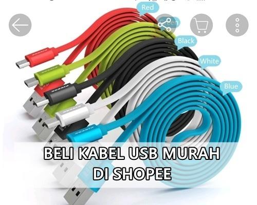 Beli Kabel Micro USB Murah di Shopee