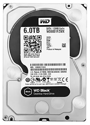 WD Black Performance Desktop Internal Hard Disk Drive Review - 7200 RPM SATA 6 Gb/s 128MB Cache 3.5 Inch - (WD6001FZWX)