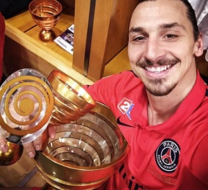 Ibrahimovic win three Coupes de la ligue