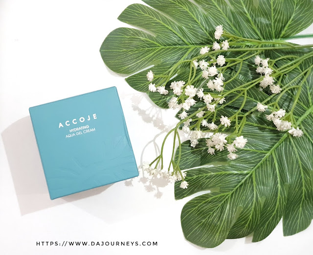 [Review] Accoje Hydrating Aqua Gel Cream