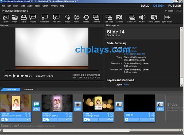 Hướng dẫn sử dụng Proshow Producer tạo video từ Album ảnh trên máy tính d