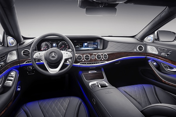 Interior Mercedes-Maybach S