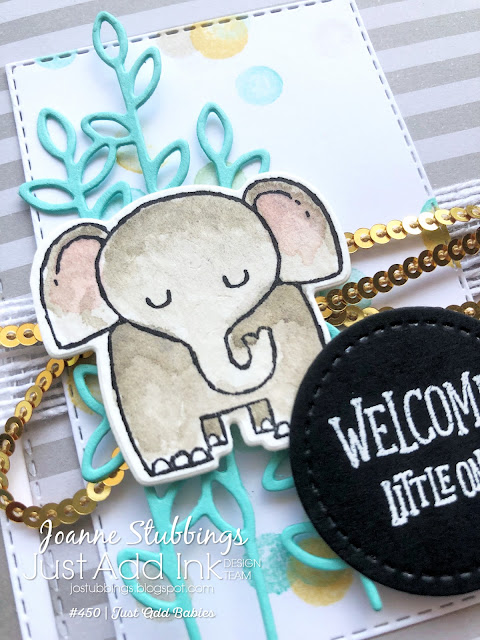 Jo's Stamping Spot - Just Add Ink Challenge #450 using A Little Wild by Stampin' Up!