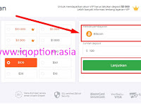 Cara Deposit IQ OPTION Menggunakan Bitcoin