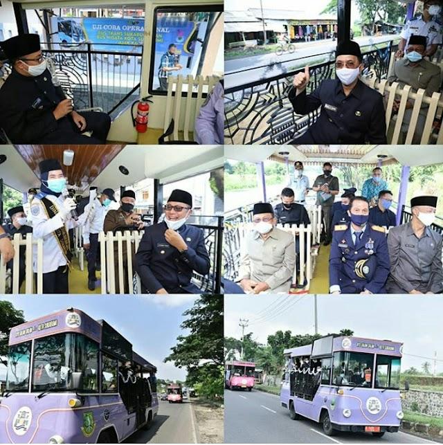 Hari Perhubungan, Kota Sukabumi Luncurkan Bus Transit Sukabumi dan Ajak Kami