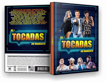 CAPA DVD – As Mais Tocadas Do Momento – ISO