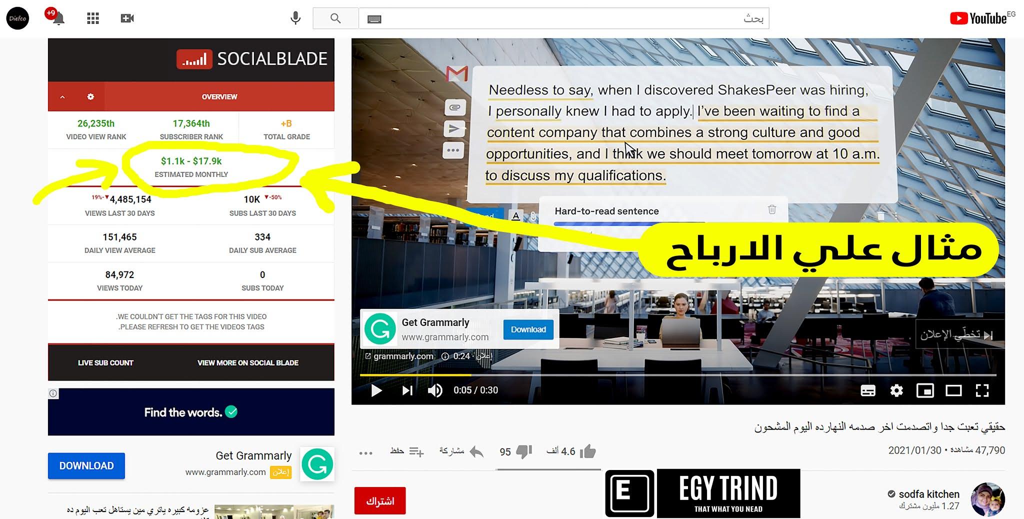 3. افضل فكرة للعمل من المنزل انشاء قناة يوتيوب للربح من الفيديوهات