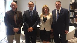 Μέλη της Διακοινοβουλευτικής Ένωσης Ελληνισμού στην Ηλεία