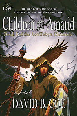 Review, Excerpt, Children of Amarid, David B. Coe, Bea's Book Nook