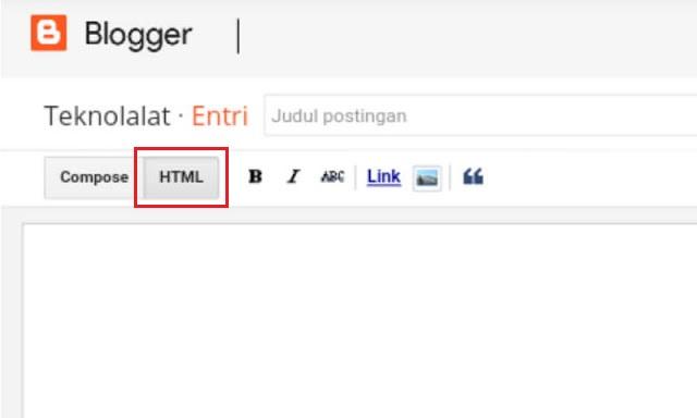 Edit HTML tombol download