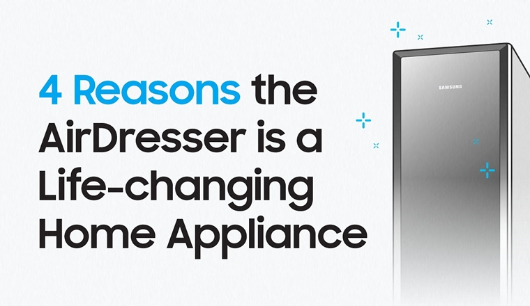 4 Reasons Samsung's AirDresser is a Life-changing Home Appliance #infographic