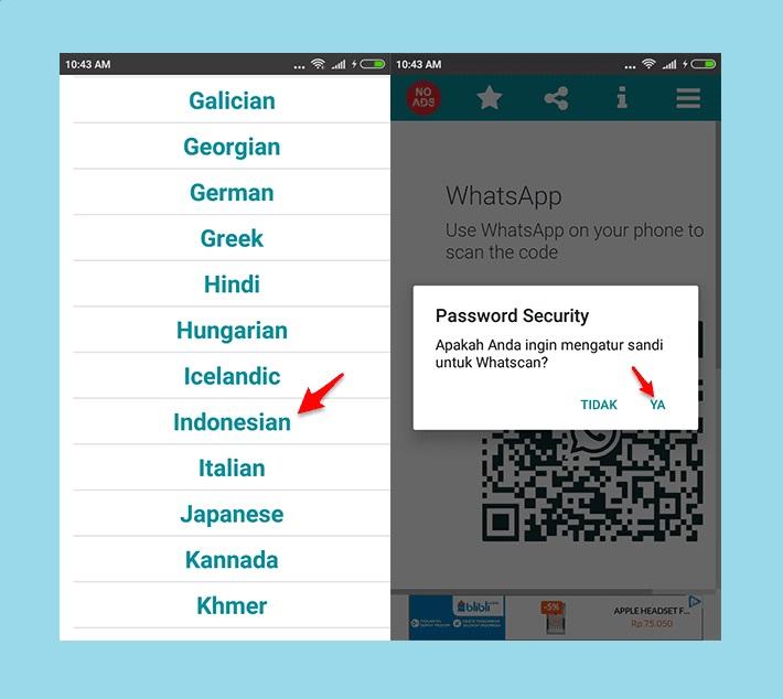 whatsapp scanner