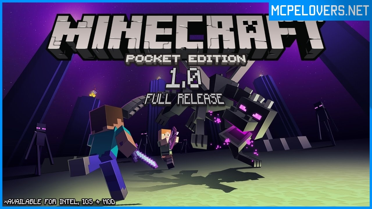 Download Minecraft: Pocket Edition v1.0.0.16 / 1.0